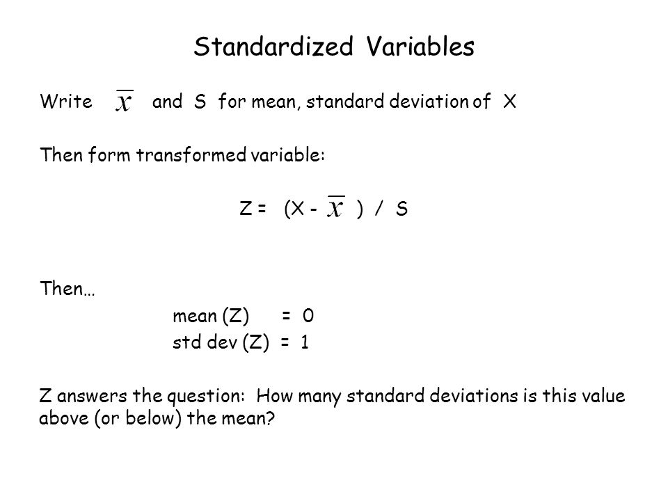 Jan 29 Statistics For One Quantitative Variable Mean And