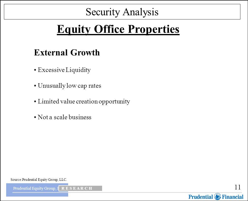Non liquidating dividends prudential