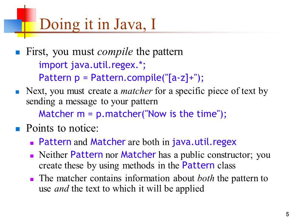 60Jun60 Regular Expressions In Java 60 Regular Expressions A Impressive Java Pattern Compile