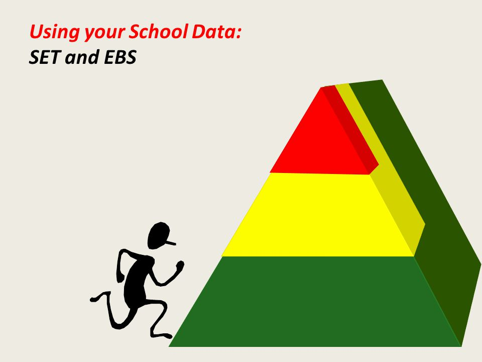 Using your School Data: SET and EBS