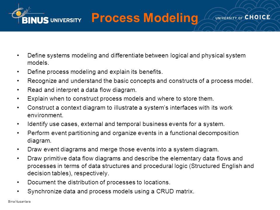 Bina nusantara 9 c h a p t e r process modeling bina nusantara 2 bina ccuart Choice Image