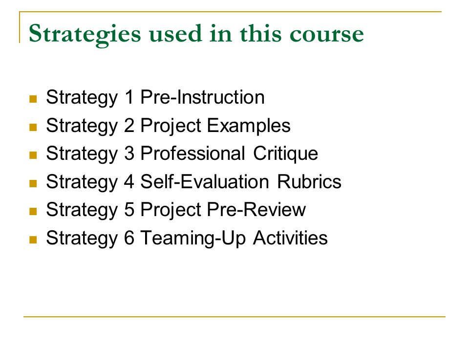 Designing Effective Instructional Strategies For Online Courses Feng