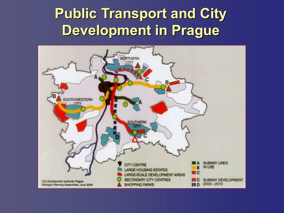 Public Transport and City Development in Prague