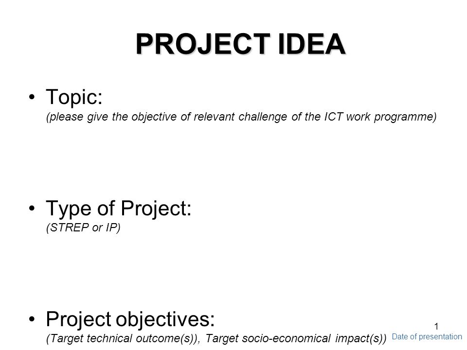 Gcse project guidelines use this presentation to make sure you.