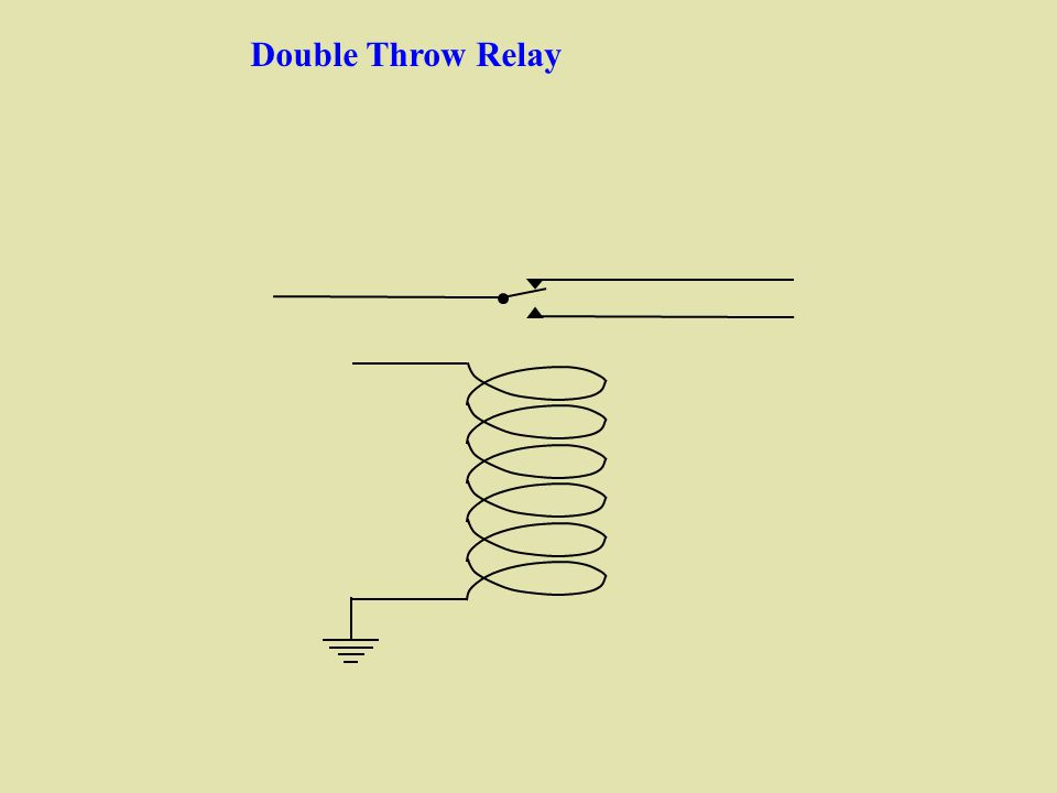 Slides to accompany a video tutorial on harry porters relay 3 double throw relay ccuart Gallery
