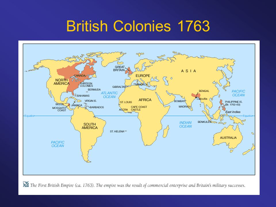geography of britsh colonies frq Apush review a list of apush  a period when 13 colonies gained independence from england  climate & geography distinguished from lower south.