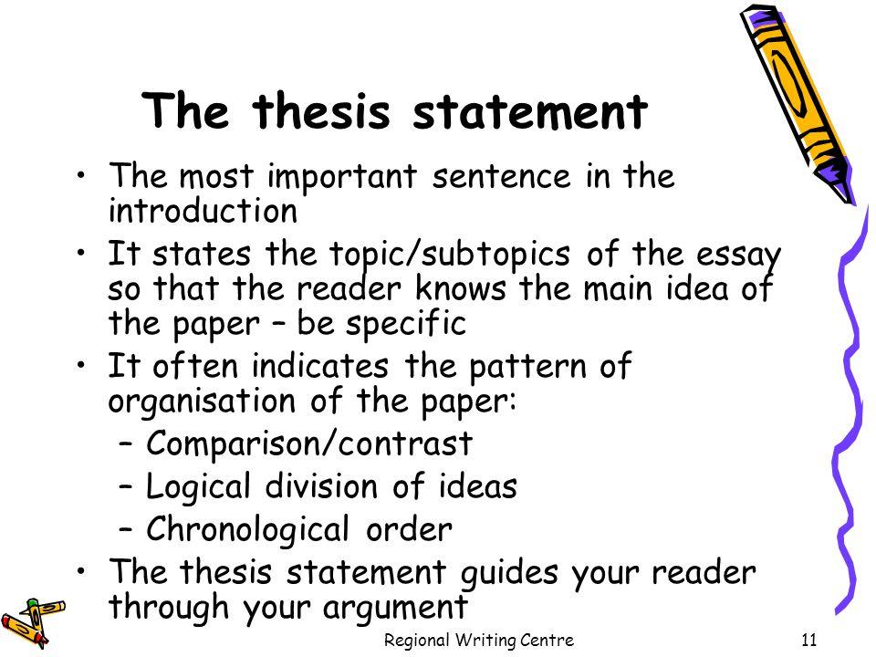 thesis statement oleanna