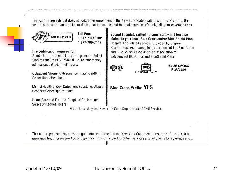 The City University Of New York Nys Health Insurance Program Nyship