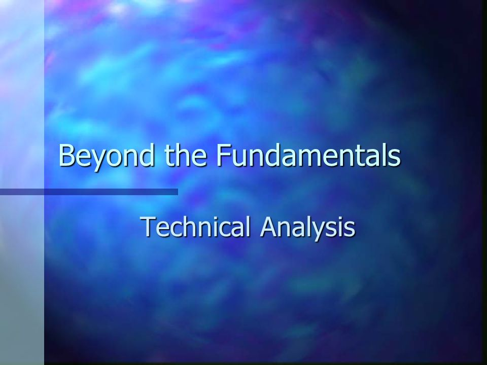 review of literature on fundamental and technical analysis Technical aspects fundamental analysis is a method of finding out the future price of a stock which an investor wishes to  literature review the origin of.