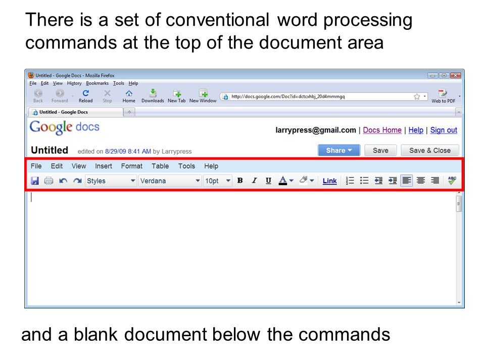 Using Google Docs A Networkbased Word Processor This Work Is - Google word processor