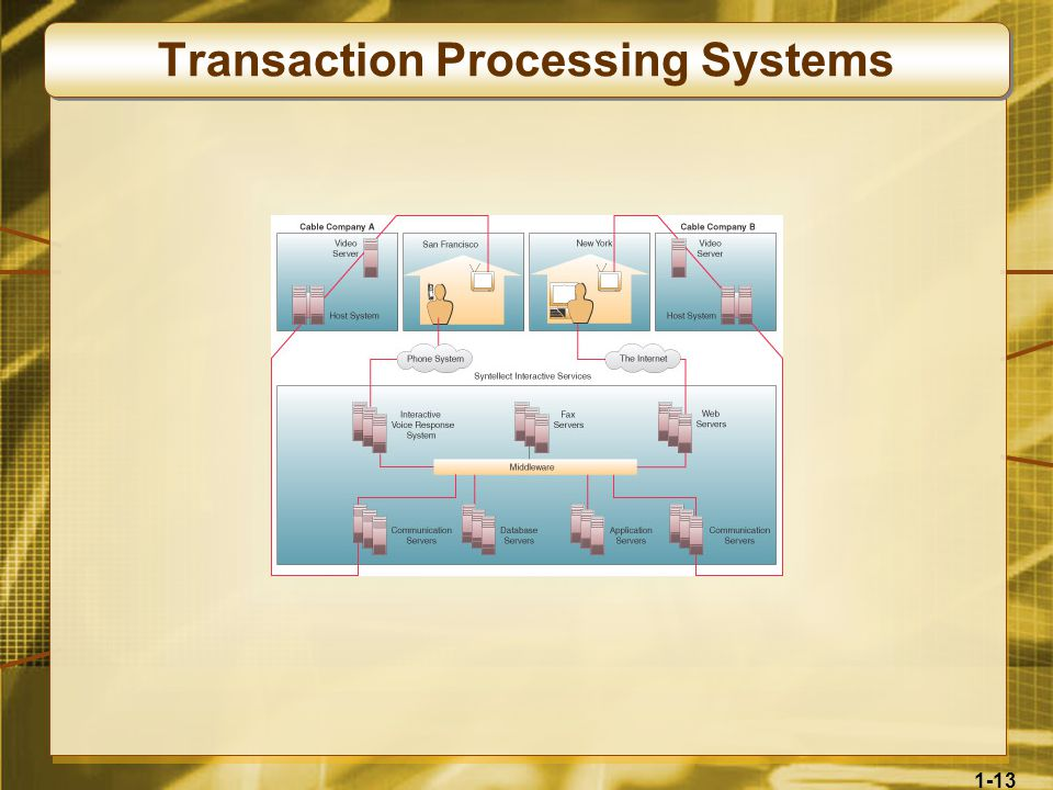 1-13 Transaction Processing Systems
