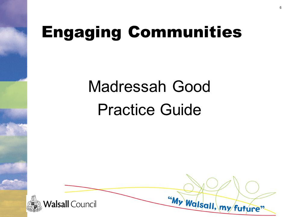 6 Engaging Communities Madressah Good Practice Guide