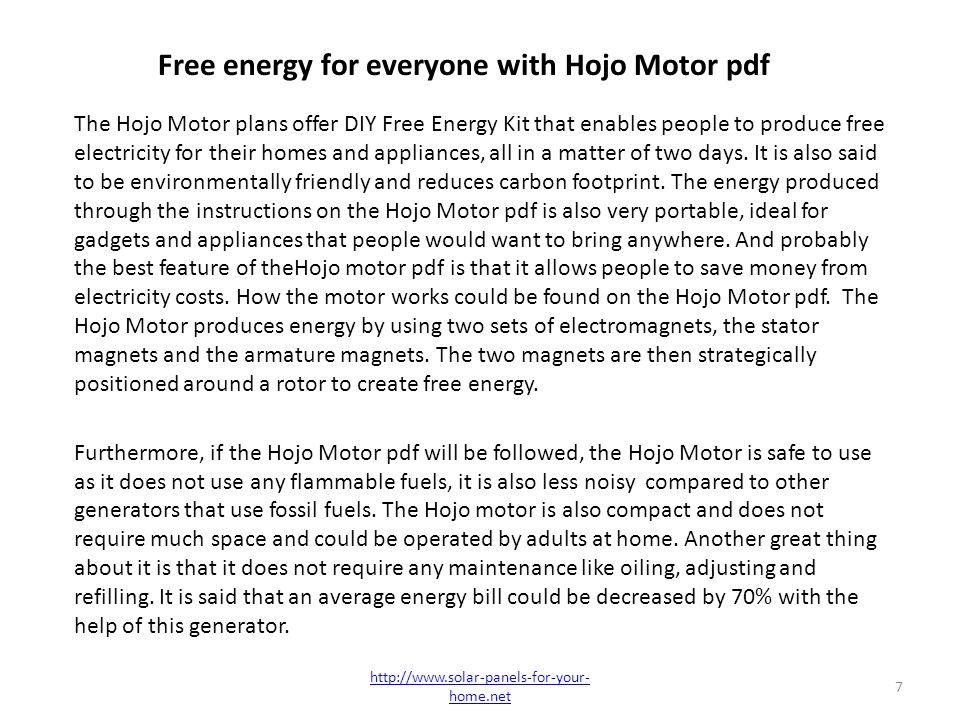 Howard Jonson HoJo Motor Review - The Most Reliable Method