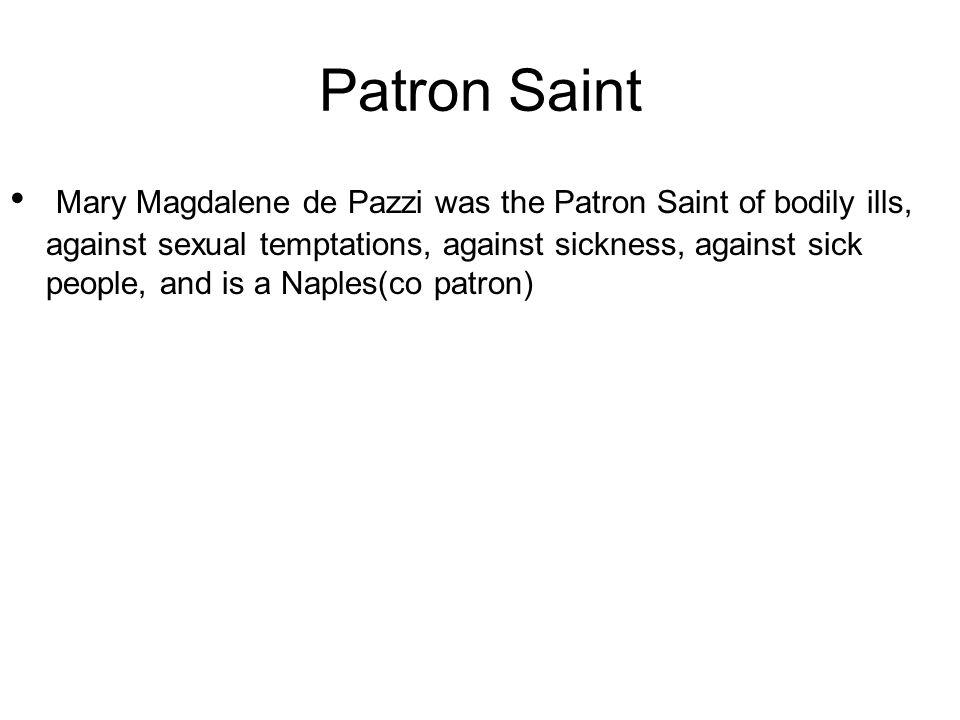 Patron saint of sexual temptation