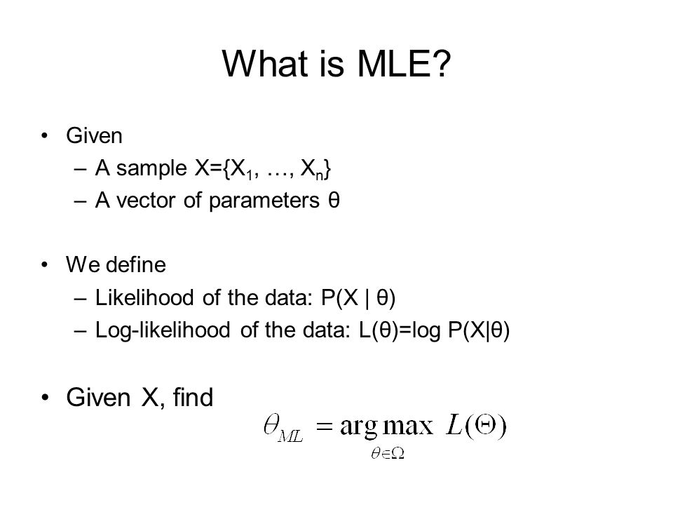 What is MLE.
