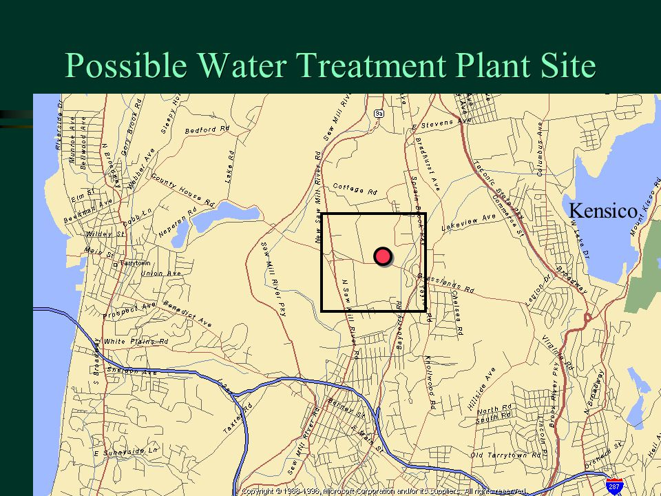 Possible Water Treatment Plant Site Kensico