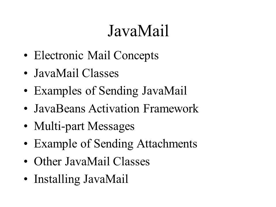 javabeans activation framework java 11