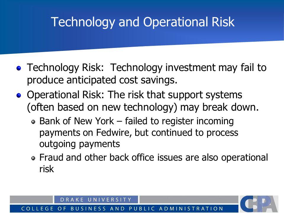 Risks of Financial Intermediation Finance 129  Common Risks