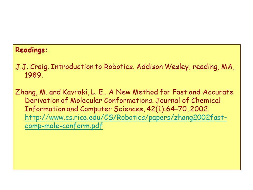 Introduction To Robotics Craig Pdf