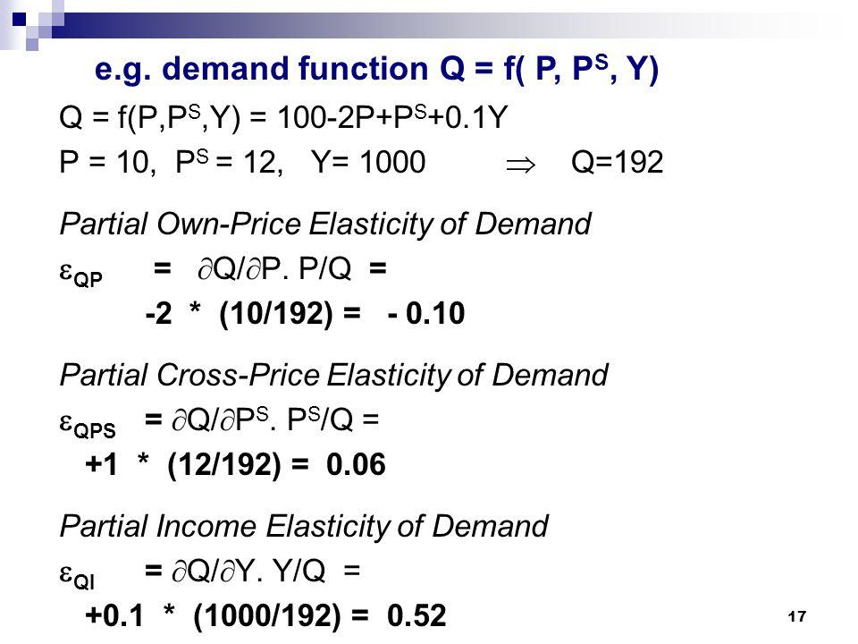 1 Topic 7 Part I Partial Differentiation Part Ii Marginal