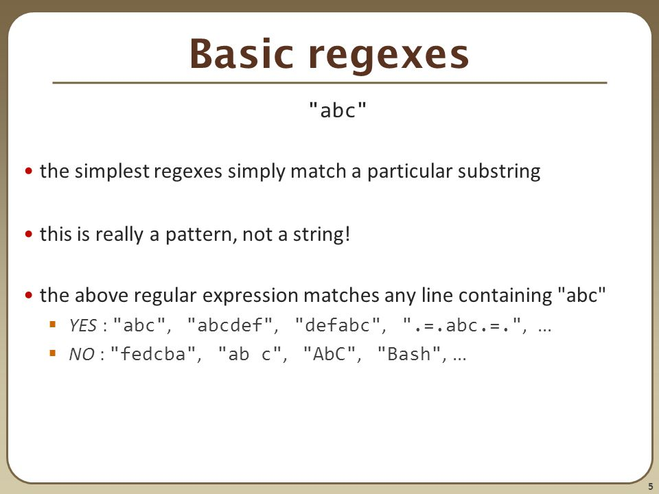 1 CSE 390a Lecture 7 Regular expressions, egrep, and sed slides