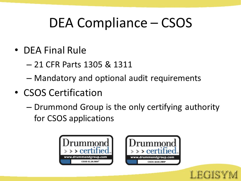 Is A Controlled Substance Ordering System Csos Right For You An