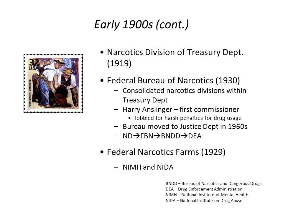 Fbn: Federal Bureau of Narcotics