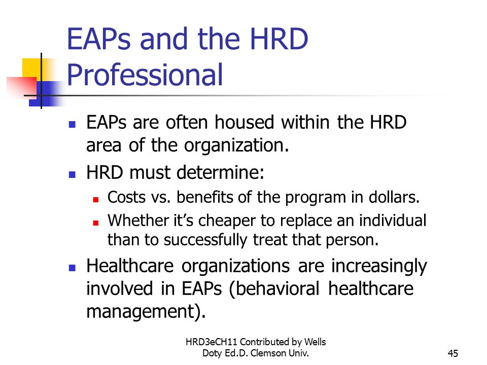 HRD3eCH11 Contributed by Wells Doty Ed.D.