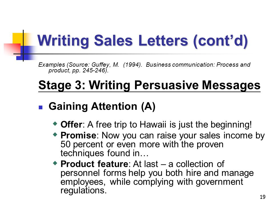 Lecture 7 Persuasive Messages 2 Persuasive Messages I Preparing To