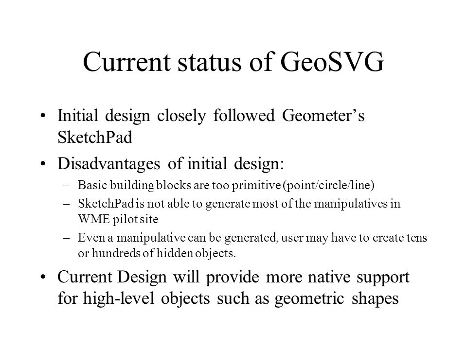 GeoSite and GeoSVG  GeoSVG: A Dynamic Geometry Authoring Tool