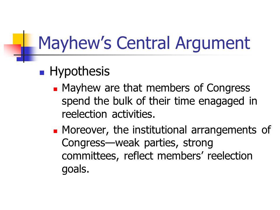 mayhew congress