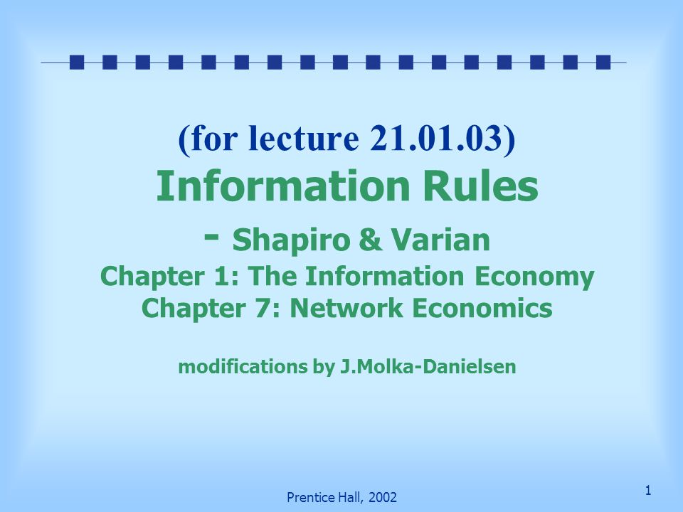 information rules shapiro