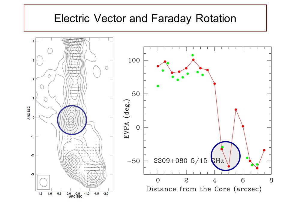 Electric Vector and Faraday Rotation