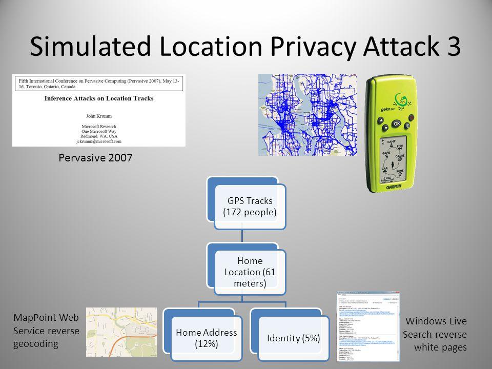 A Survey of Computational Location Privacy John Krumm