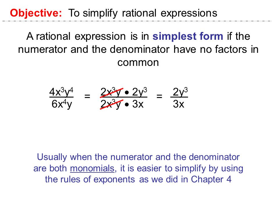 Math 1111 Unit 1111 Section 1111.11. A fraction in which the ...