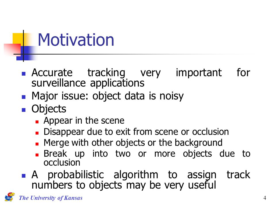 A Bayesian algorithm for tracking multiple moving objects in