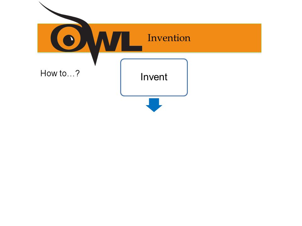 Invention How to… InventComposeRevise