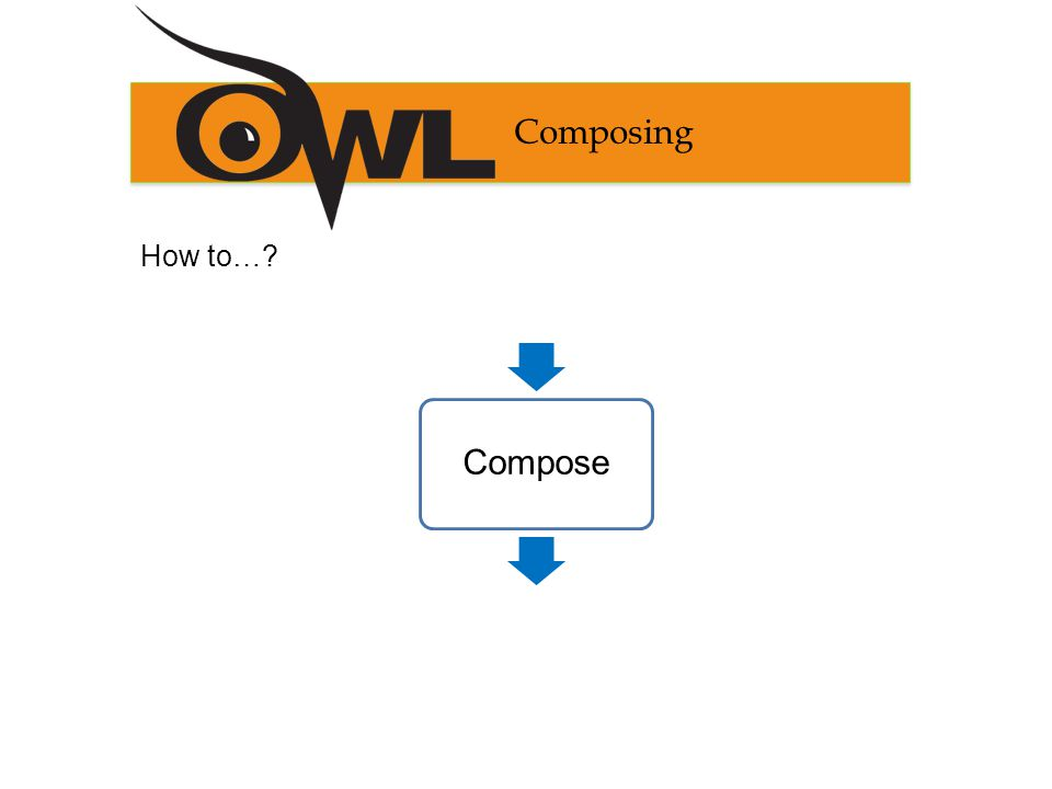 Composing How to… InventComposeRevise