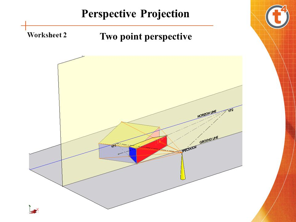 Introduction To Perspective Projection Is A. 13 Perspective Projection Worksheet 2 Two Point. Worksheet. 2 Point Perspective Worksheet At Clickcart.co