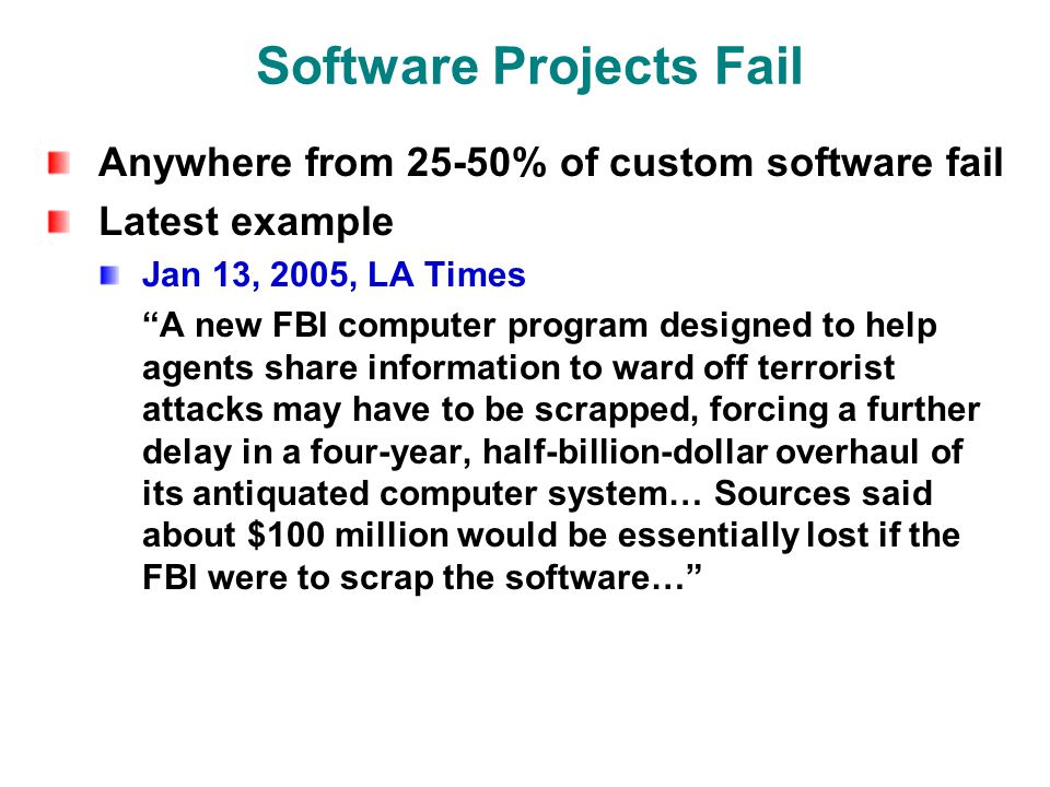Modern Software Development Fawzi Emad Chau-Wen Tseng