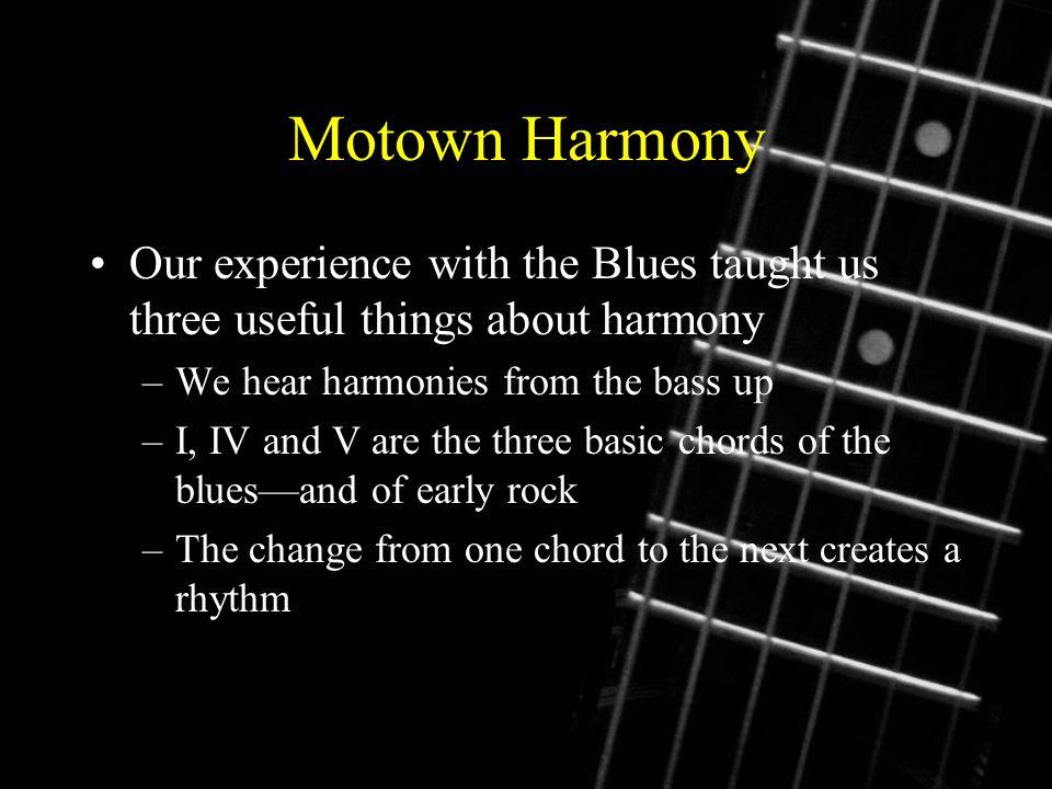 The Motown Beat A Medium Tempo Between Beats Per Minute A Strong
