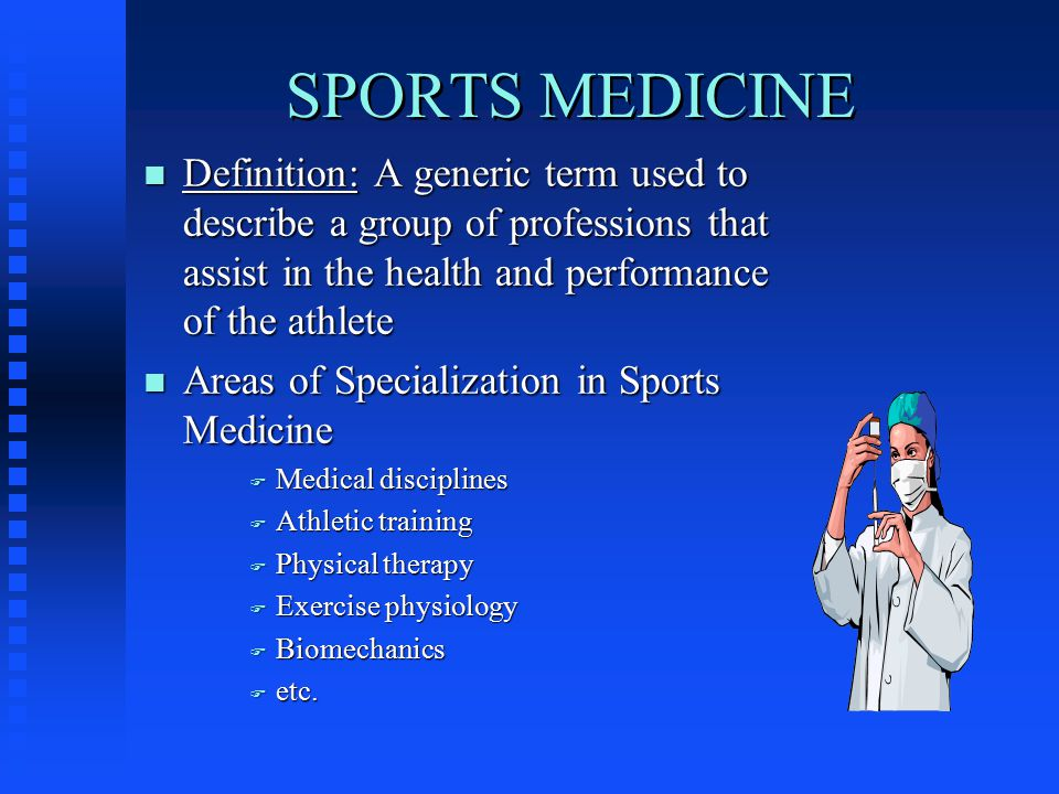 background information over the years athletic training has evolved
