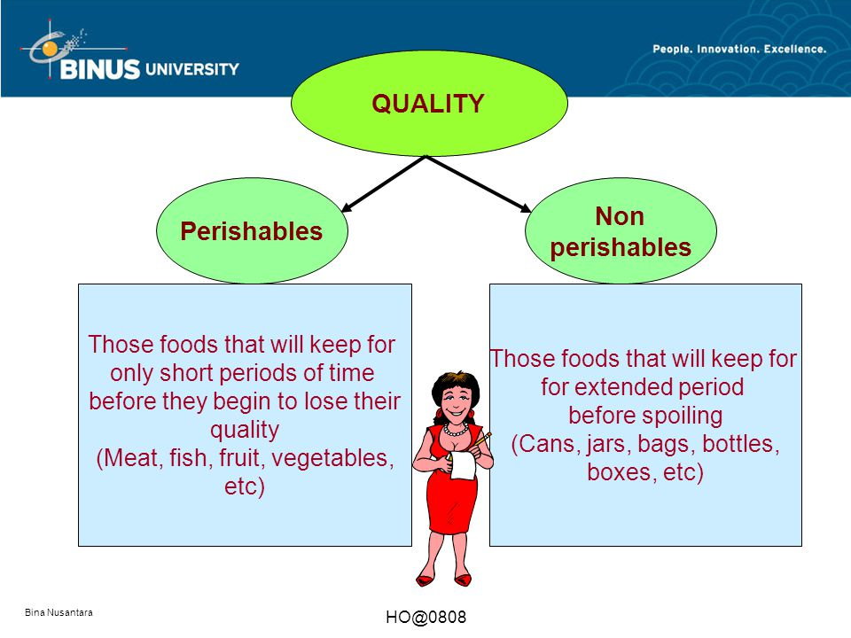 Bina Nusantara QUANTITY FOUR CRITICAL ISSUES IN PURCHASING QUALITYPRICE SPACE Perishables Non perishables