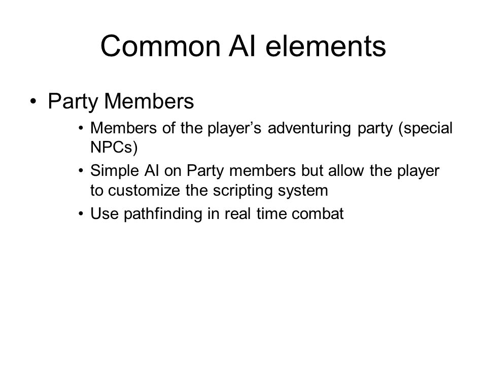 Introduction to AI Role Playing Game (RPG)  Agenda History