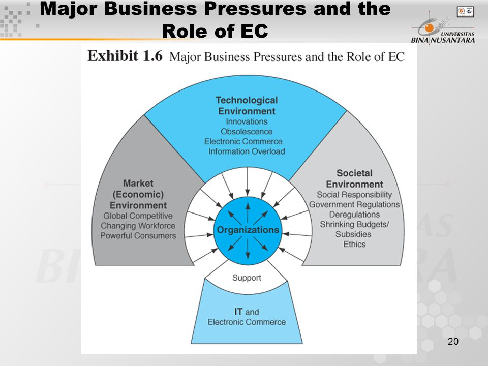 20 Major Business Pressures and the Role of EC