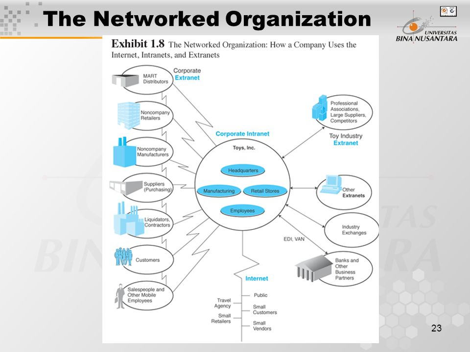 23 The Networked Organization