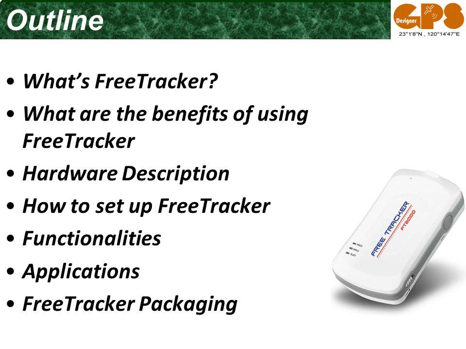 What's FreeTracker.