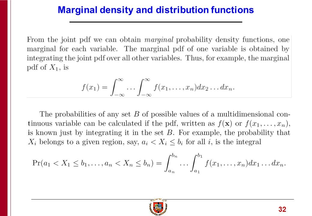 1 Engineering Computation Part 6  2 Probability density