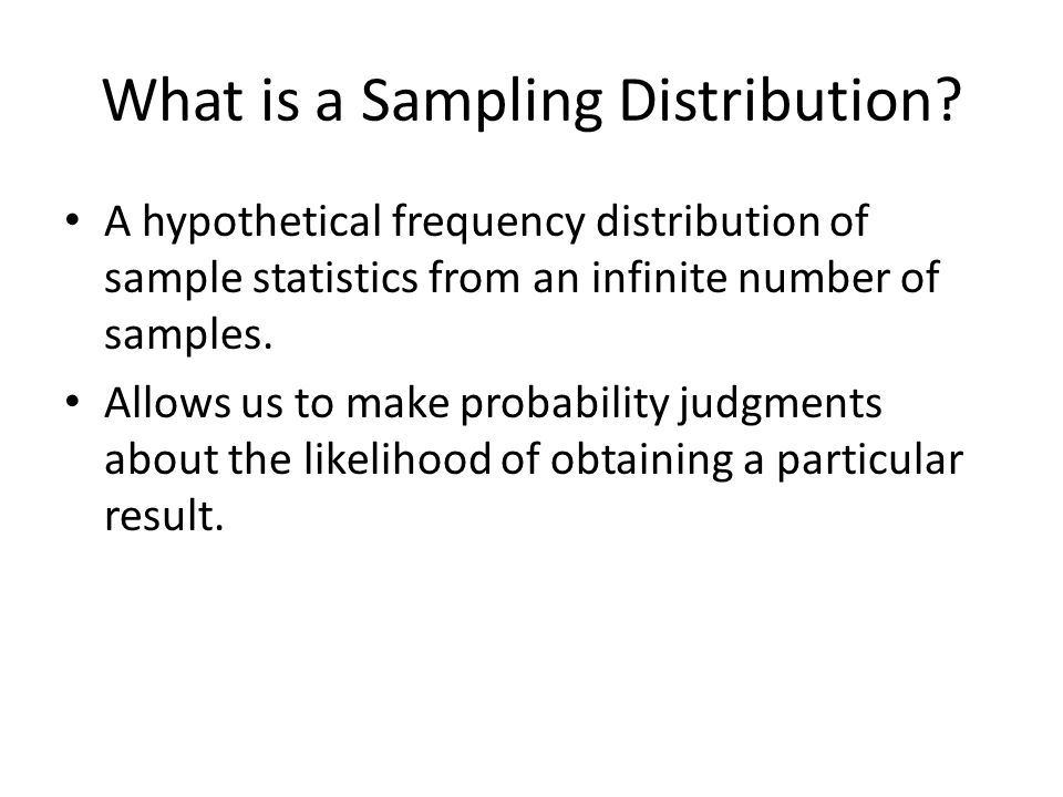 Statistics as a Probability Game Power is increased by: – higher alpha – larger sample – lower variability – larger effect size Anything that increases power decreases beta