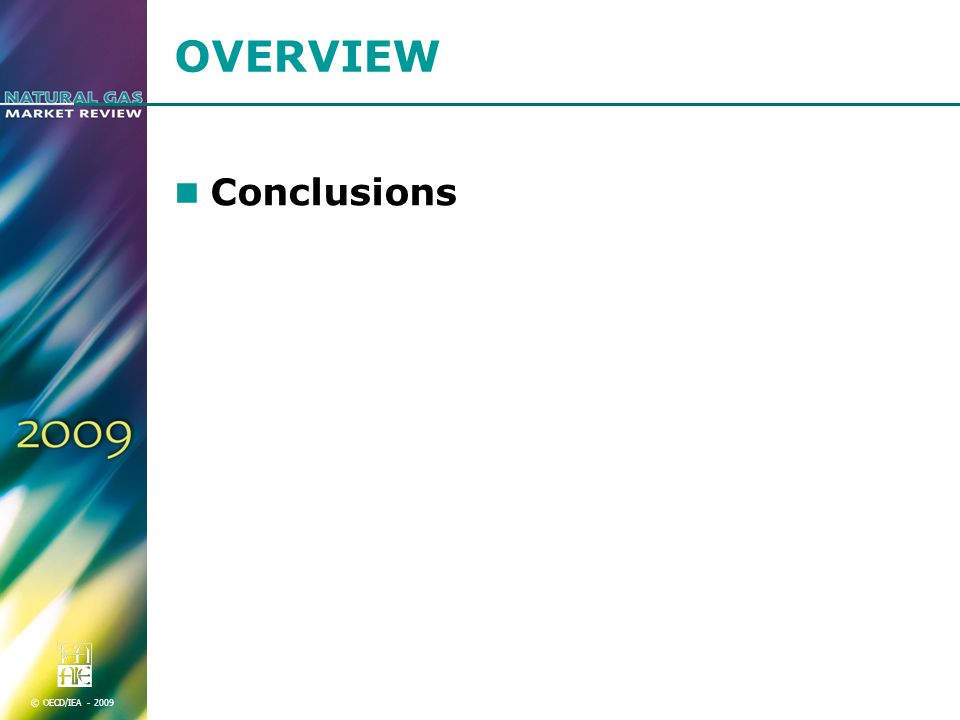 © OECD/IEA OVERVIEW Conclusions